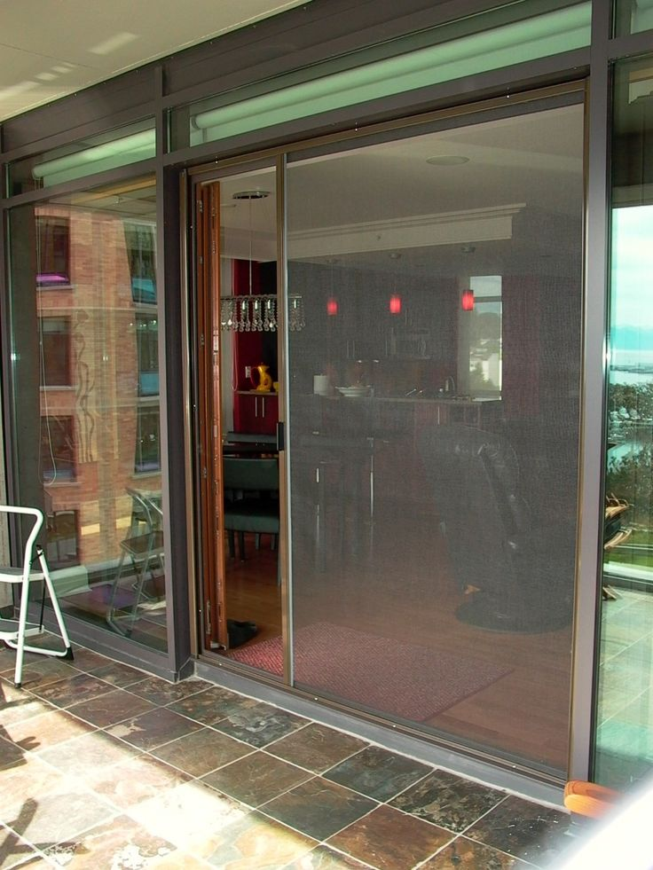 Sliding French Doors With Screen