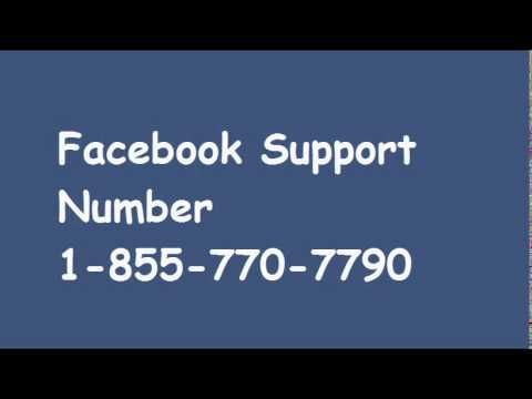 facebook number 1 855 770 7790.