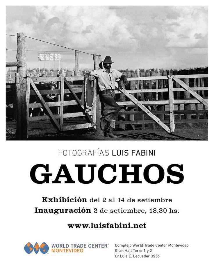 Vaqueros de las Américas GAUCHOS Exposición itinerante  Hombre y Caballo: Retrato de la relación más extraordinaria que se haya forjado jamás entre dos seres vivientes. GAUCHOS, libro y exposición En Canadá y Estados Unidos se lo conoce por Cowboy, en Méjico es el Charro, en Colombia y Venezuelaes el Llanero, en Ecuador es el Chagra, en Perú es el Chalán y en Chile es el Huaso. Brasil tiene alGaúcho, al Pantaneiro y al Vaqueiro, y en Uruguay y Argentina le llaman Gaucho.