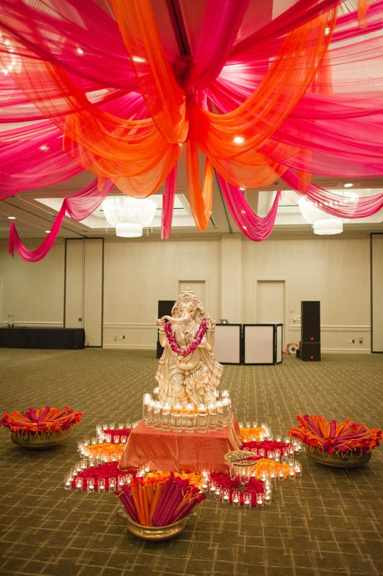 Garba decor