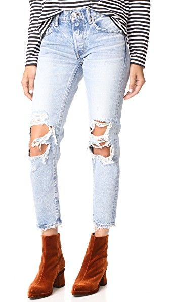 MOUSSY MV May Tapered Jeans | SHOPBOP SAVE UP TO 25% Use Code: EOTS17