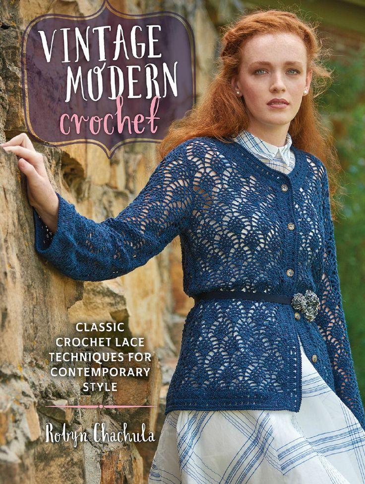 intage Modern Crochet Classic Crochet Lace Techniques for Contemporary Style - 轻描淡写 - 轻描淡写