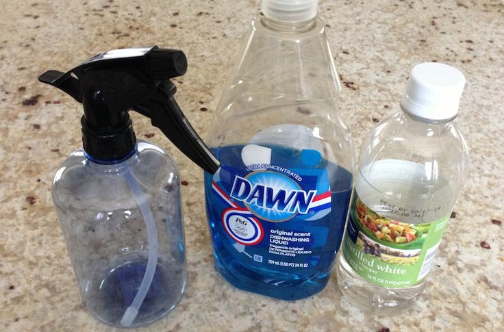 Pinbusted or Pintrusted: Dawn and Vinegar Shower Cleaner