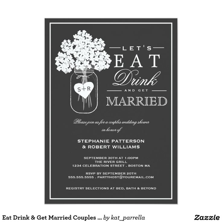 Wedding Gifts For Couples Without A Registry : ... Couples wedding shower invitations, Couple wedding showers and Couple