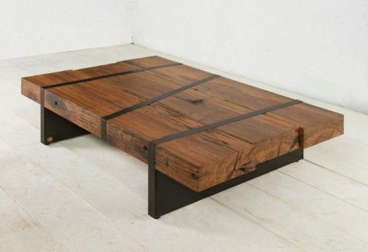 railway sleeper coffee table. | latest inspiration | pinterest
