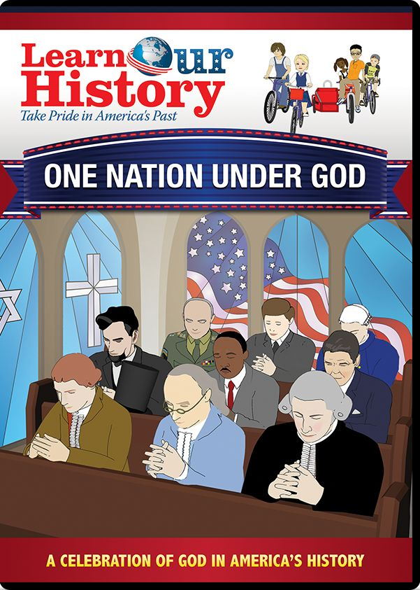 This DVD celebrates and explains the crucial role that God has played in America's founding and development - and helps children understand how all of our rights and freedom come directly from God, not the government.  It's a great way to help your children understand how God and the Holy Bible have influenced our world. CLICK ON PIN TO ORDER