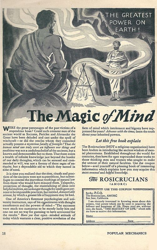 The Rosicrucian View