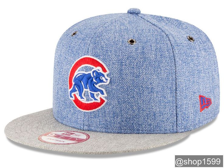 Chicago Cubs MLB 2 Tweed 9FIFTY Snapback Cap