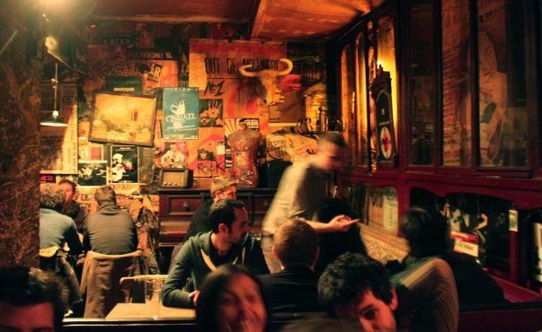 Le Piano Vache | 8 rue Laplace 5e. Oldest Rock Bar