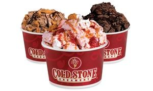 Groupon - Ice Cream, Frozen Yogurt, and Shakes, or Signature Cakes and Cupcakes at Cold Stone Creamery (50% Off) in Multiple Locations. Groupon deal price: $10