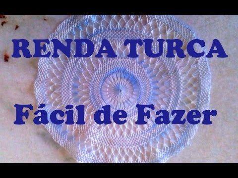 RENDA TURCA Passo a Passo Como Fazer PARTE 2 - YouTube