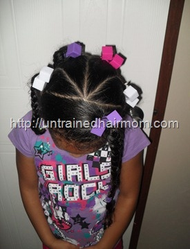 cute,easy hair style for kids