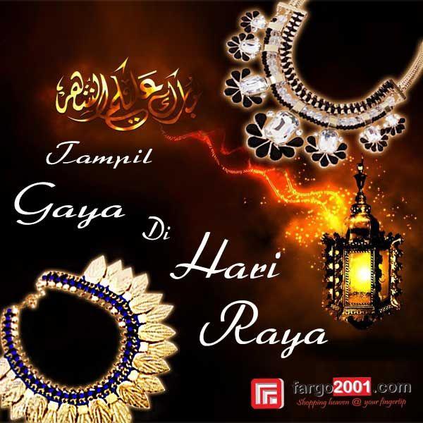 Lebaran sebentar lagi ! Mari tampil bergaya di Hari Raya dengan fashion aksesoris dari fargo2001.com ! http://fargo2001.com/fashion-299/wanita-314/accessories-300