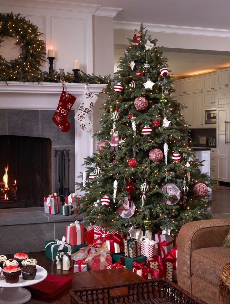 BH Fraser Fir Artificial Christmas Trees, Fraser Fir LED Pre Lit Christmas Trees   Balsam Hill AU