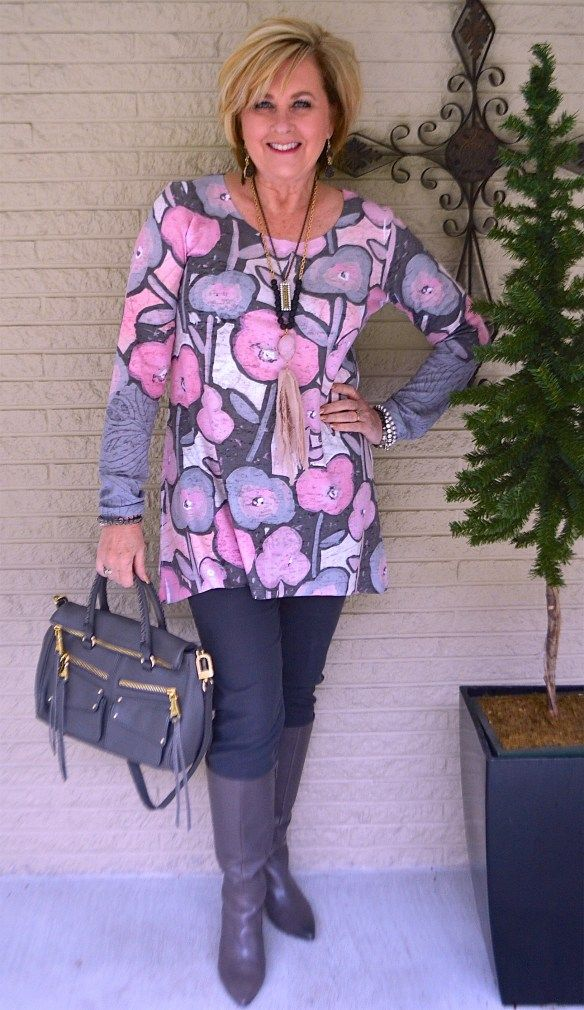 50 IS NOT OLD | PINK AND GRAY FOR SPRING
