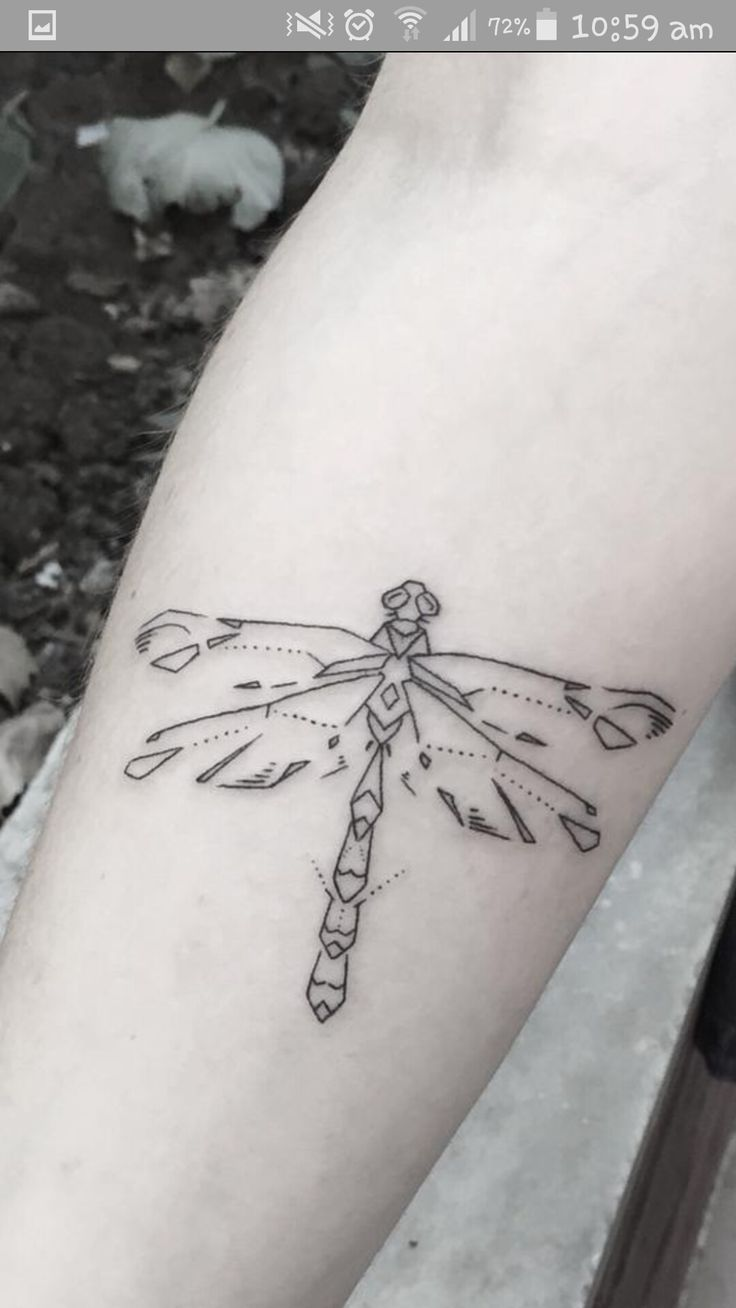 3d tattoos that will boggle your mind bizarbin - Simple Dragonfly Tattoo