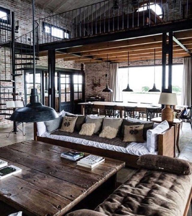 Côté décoration intérieure la mode est aux matières brutes tout droit venue de new york le style industriel séduit de plus en plus la preuve en images