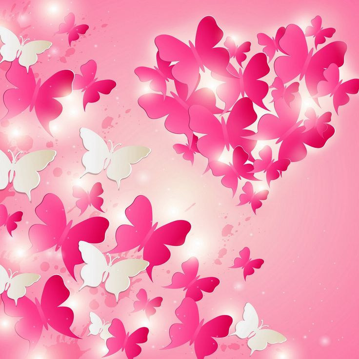 Pink Butterfly Wallpaper: 274 Best Butterfly Images On Pinterest