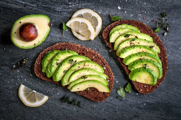 best food for stiff erection avocado