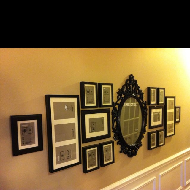 This is an original courtesy of my friend Stacy Armistead and I. I asked for her help in decorating one of my walls and this was the end result! I am beyond ecstatic! All I need now are a ton of pictures.