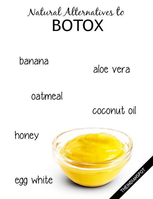 Natural Alternatives to Botox – 5 Homemade Anti-wrinkle Skin Care Recipes