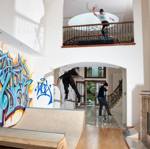 Elegant Skateboarding Party At Home, Amazing. Ideas