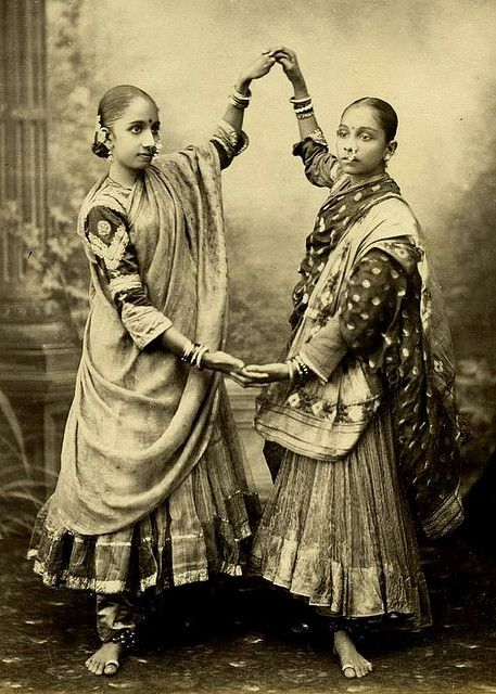 Marathi women in Gagra Choli, c.a. 1872. From The India collection at the International Exhibition.