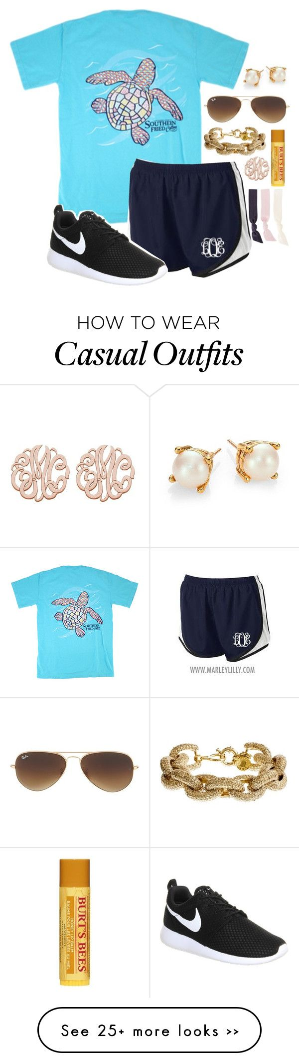 """""""casual summer day >> Sarah"""" by southern-prep-girls on Polyvore"""