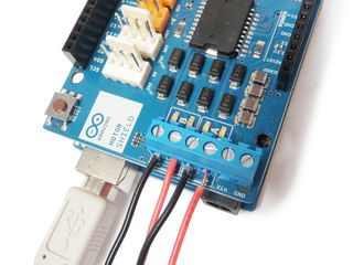The Arduino Motor Shield allows you to easily control motor direction and speed using an Arduino. By allowing you to simply address Arduino pins, it makes it very...