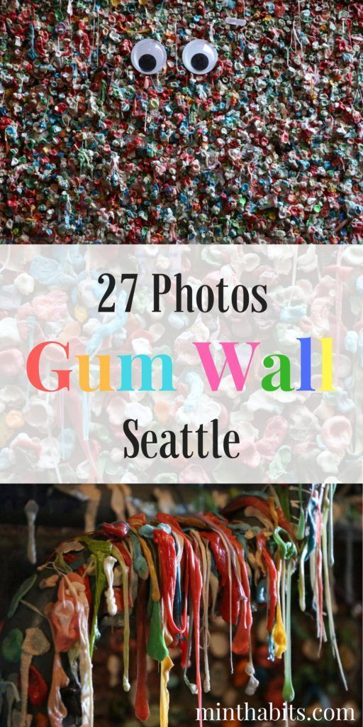 The Gum Wall in Seattle is a fun & free thing to do! I recommend visiting it. Here's 27 incredible photos to get you excited!