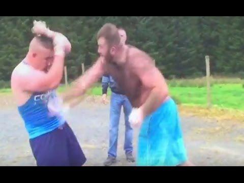 Joe Joyce Jr v Dan Nevin Bareknuckle Boxing Full Fight - YouTube