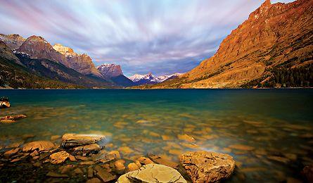 Backpacking Glacier National Park  Love to go back.Glacier Park