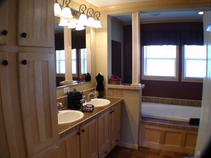 Beautiful mobile home bathrooms agl homes photo for 3 bathroom mobile homes