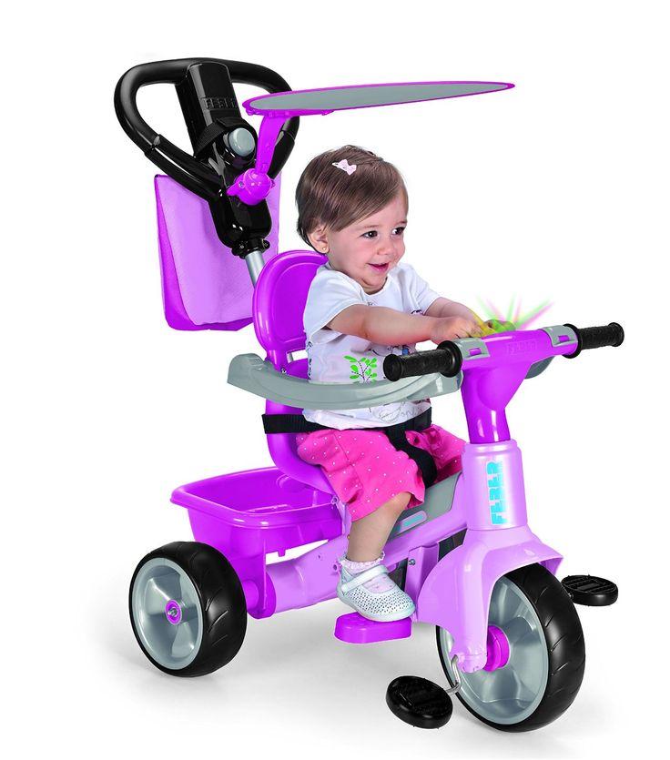 TRICICLO ROSA FEBER BABY PLUS MUSIC NUEVO MODELO. 800010210, IndalChess.com Tienda de juguetes online y juegos de jardin