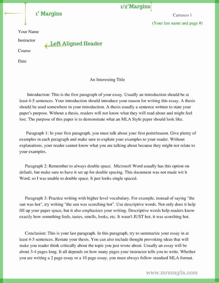 Anecdote in essay
