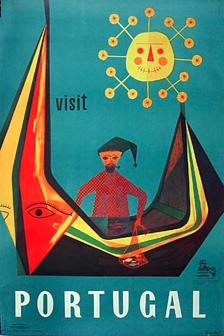 By Sebastiao R., 1 9 5 3, Visit Portugal.