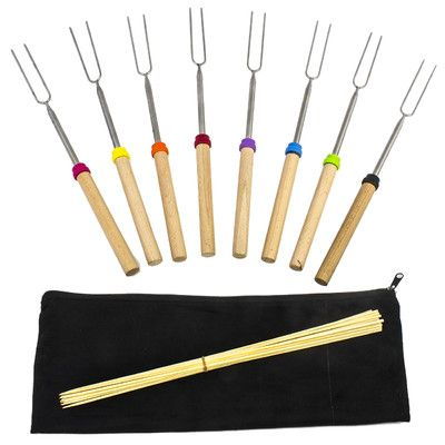 Sorbus 18 Piece Marshmallow Roasting Stick Set