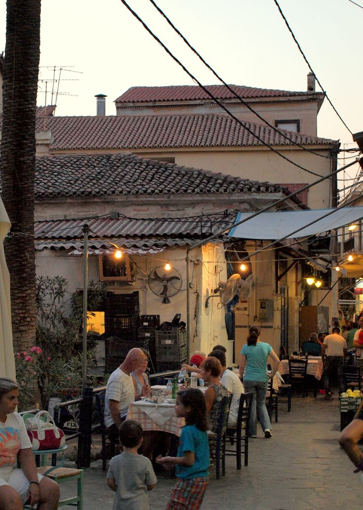 Aegina's market, by Achi - Greece
