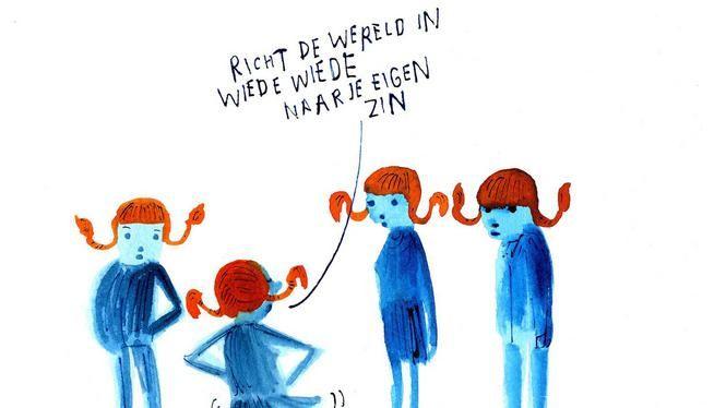 Werkzoekende: handel in de geest van Pippi | Mijn idee in de Volkskrant van 13-4-2016!!