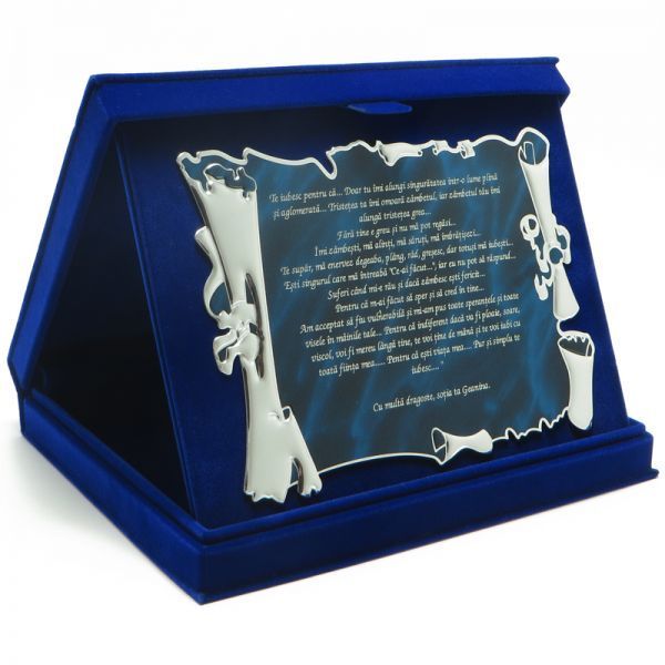 Cadou Casa de piatra! - Cadouri gravate cu mesaj - Cadouri de la Kadoly.ro - Cadouri personalizate d