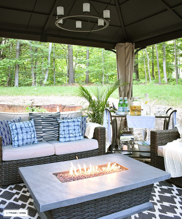 our new backyard patio reveal perfect for resin wicker - Resin Patio Furniture