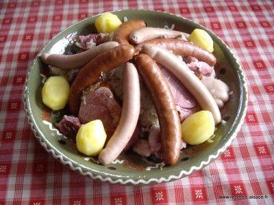 Choucroute Garnie Alsacienne | Recettes d'Alsace