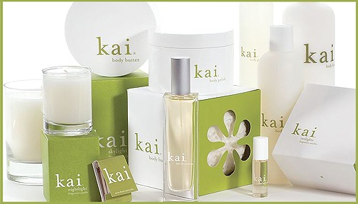 I have to have this! A health & beauty line in honor of my Kai Kai. I don't even care what it smells like!