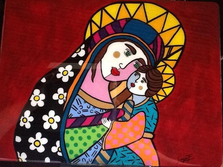 Virgen de Guadalupe Tabla de computador More info: sergiofelipef@hotmail.com