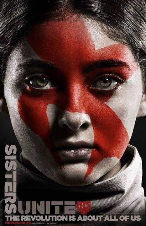 Prim poster Hunger Games Mockingjay Part 2