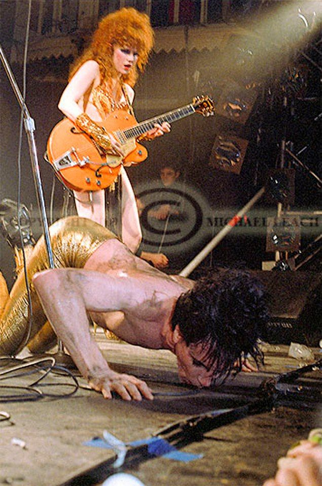 Lux Interior and Poison Ivy - Amsterdam 1986