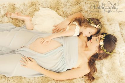 mother-daughter-maternity-photographer-los-angeles