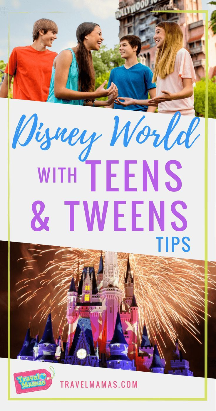Tips for Visiting Disney World with Teens & Tweens #disney #disneyworld #teens