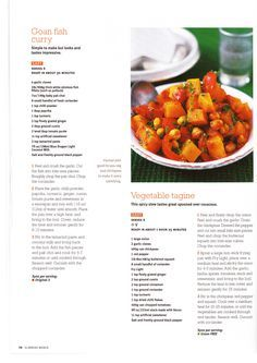 Slimming World - Goan Fish Curry and Vegetable Tagine
