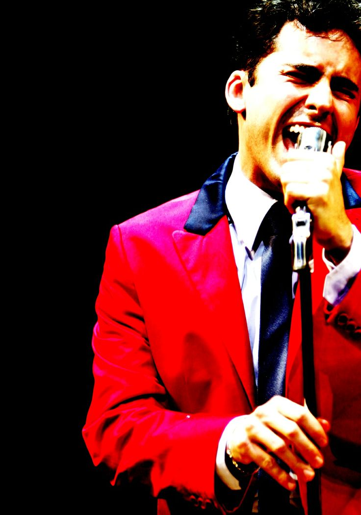 "John Lloyd Young as Frankie Valli from ""jersey boys"". In other words, yum"
